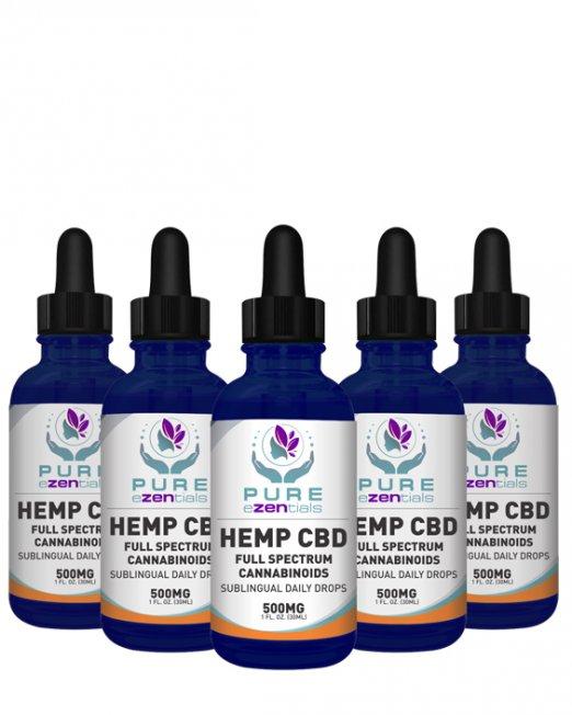 500 mg oil 5 pack